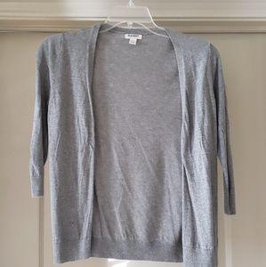 2 for 10 / Quarter sleeve grey cardigan
